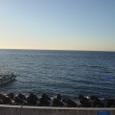 朝の駿河湾(静岡市)