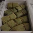 柿の葉壽司(新幹線車中)