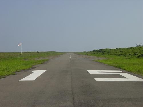 三保飛行場滑走路