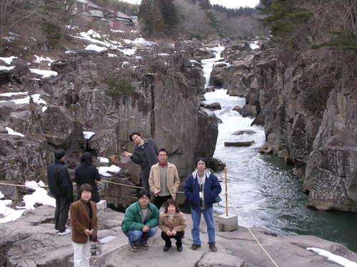 厳美渓(一関市)